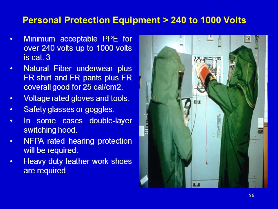 Personal Protection Equipment > 240 to 1000 Volts