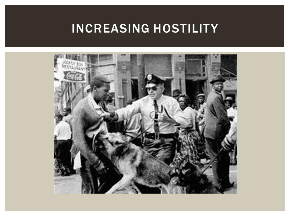 Increasing Hostility