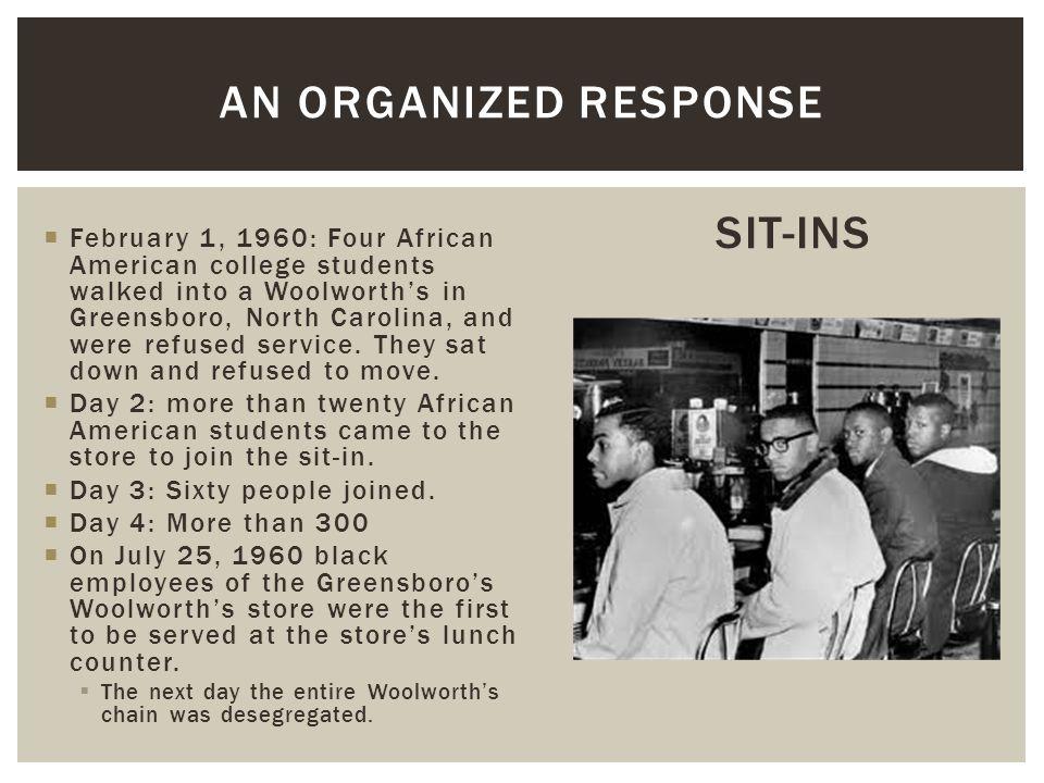 An Organized Response SIT-INS