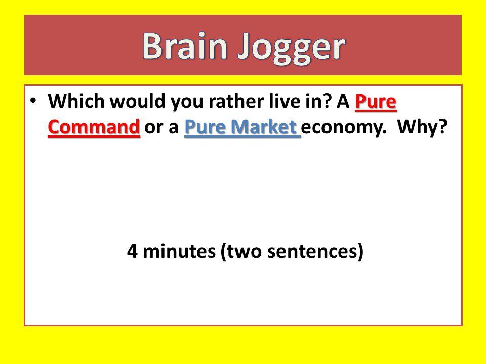 4 minutes (two sentences)