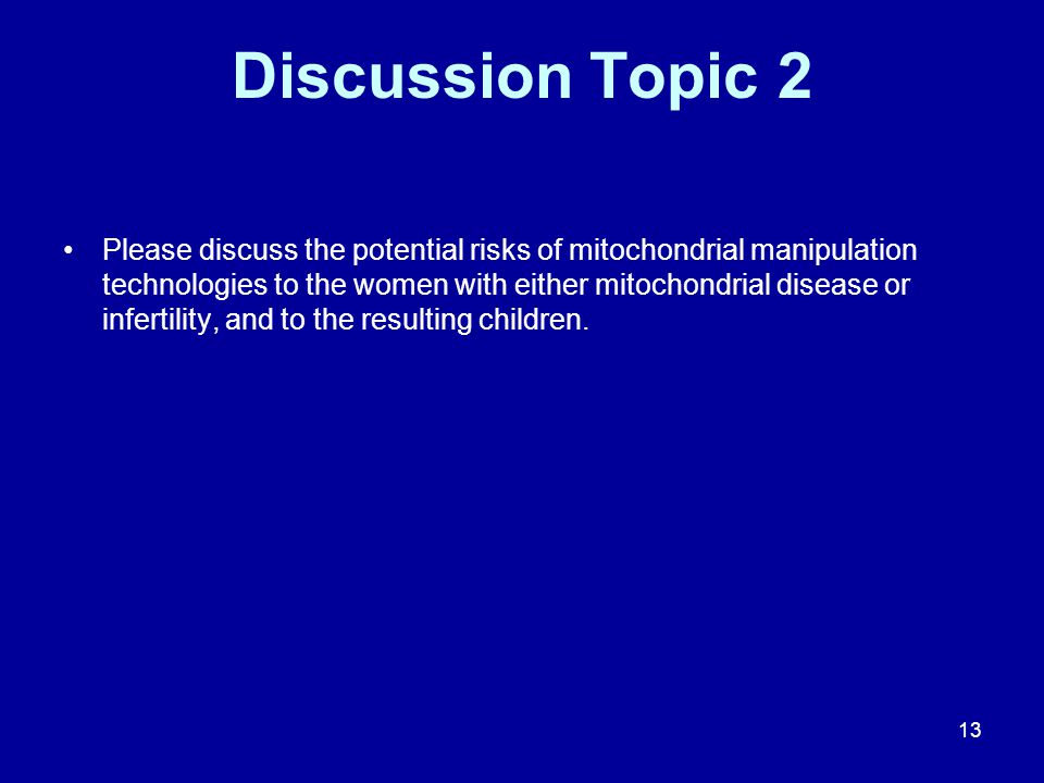 Discussion Topic 2