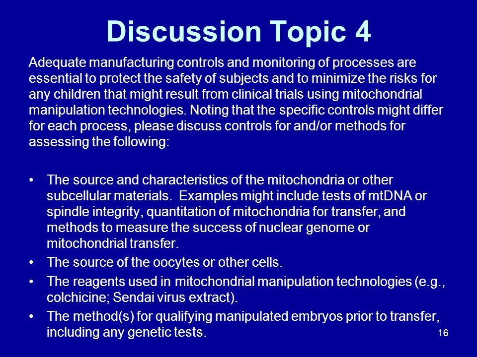 Discussion Topic 4
