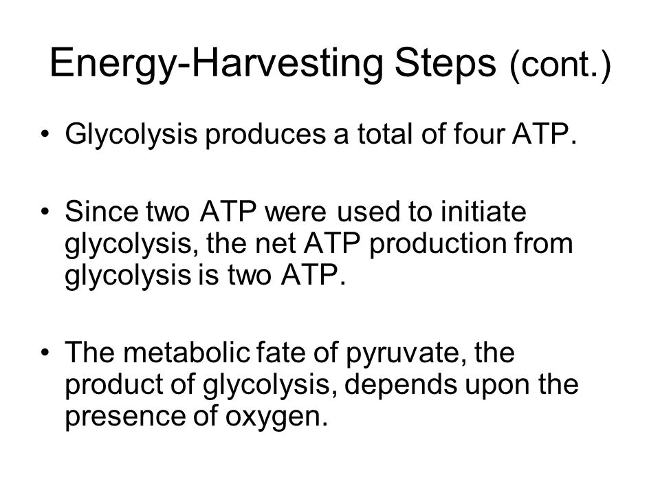 Energy-Harvesting Steps (cont.)
