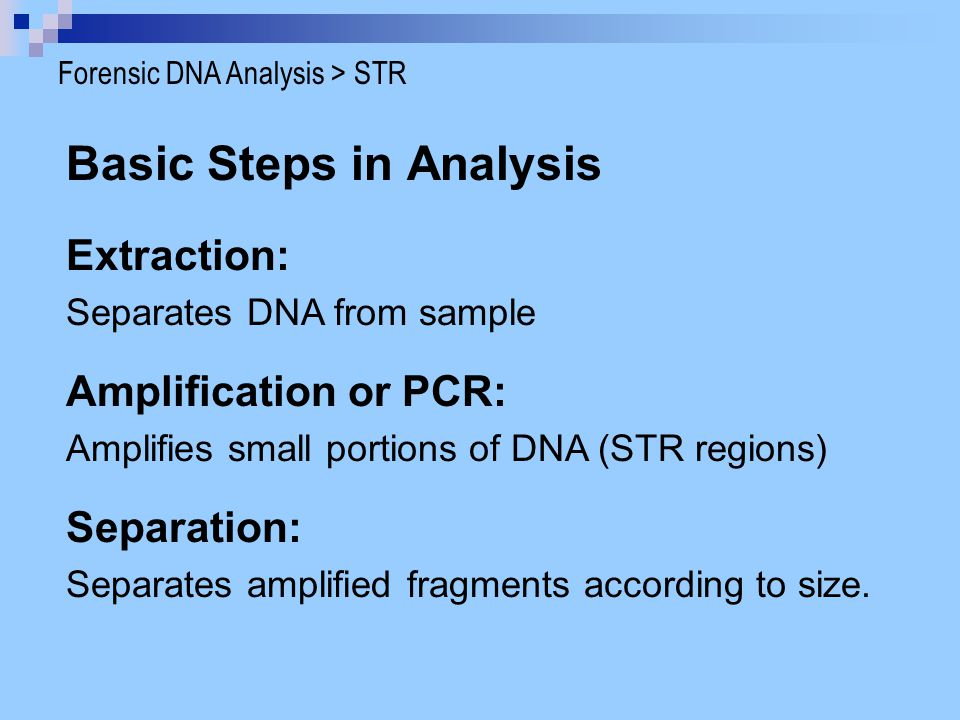 Basic Steps in Analysis