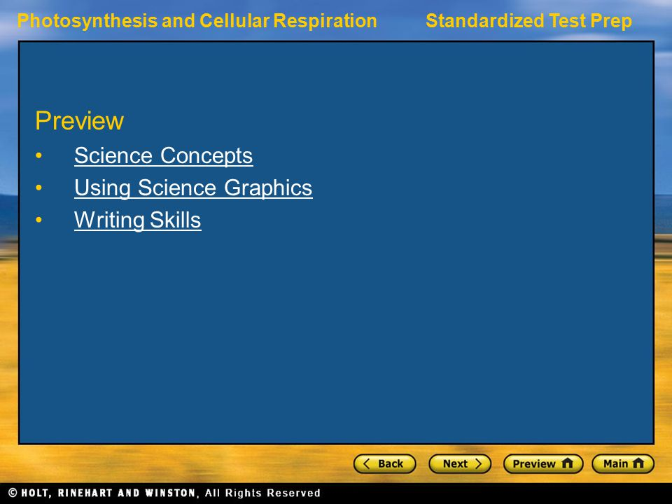 Preview Science Concepts Using Science Graphics Writing Skills