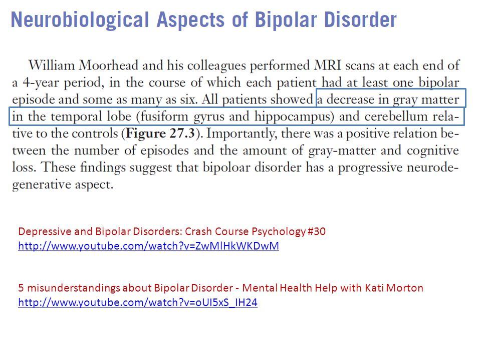Depressive and Bipolar Disorders: Crash Course Psychology #30