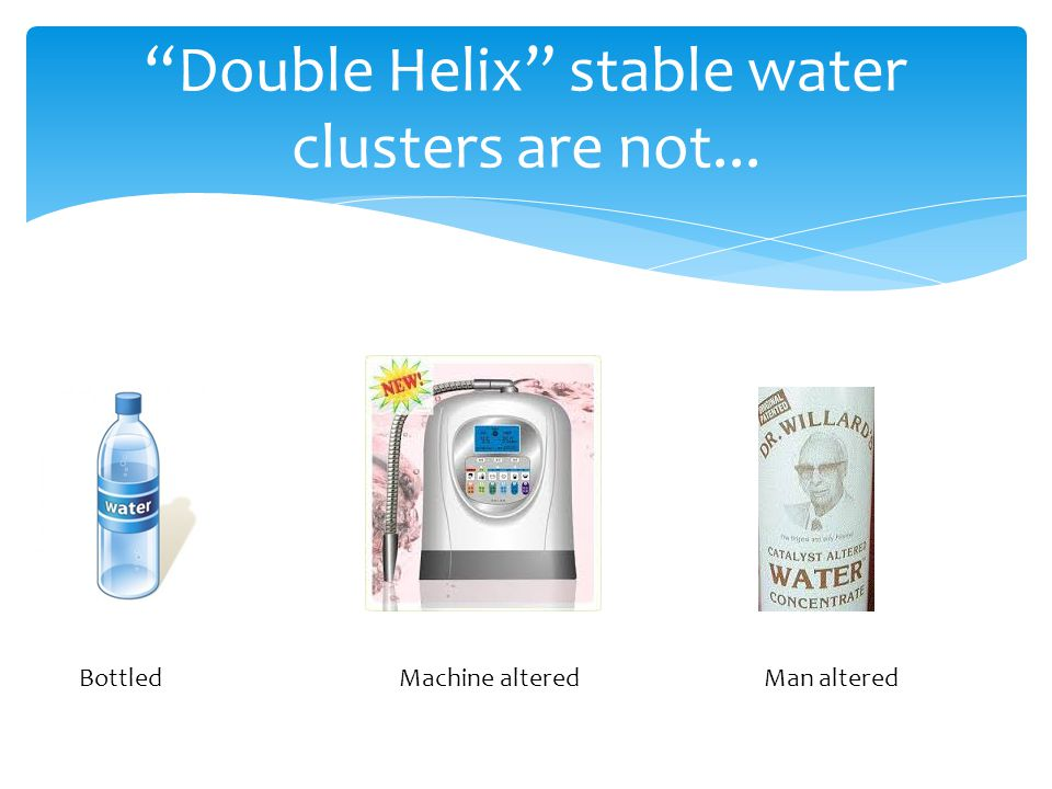 Double Helix stable water clusters are not...