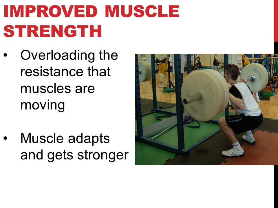 Improved Muscle Strength