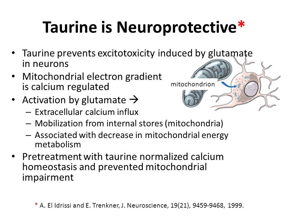 Taurine is Neuroprotective*