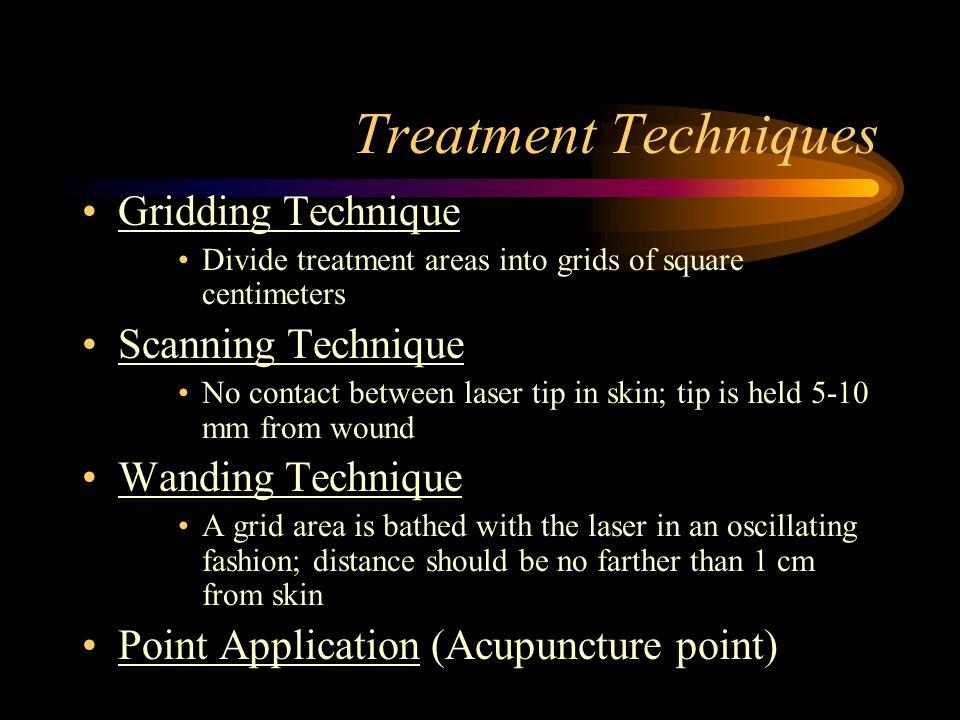 Treatment Techniques Gridding Technique Scanning Technique