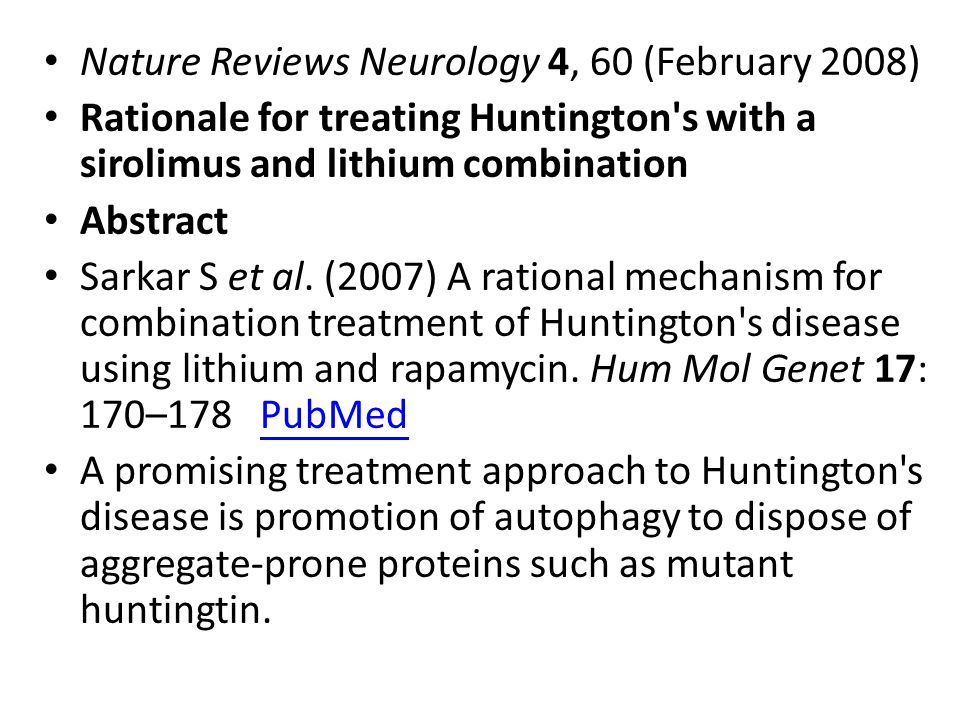 Nature Reviews Neurology 4, 60 (February 2008)