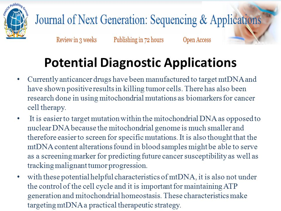 Potential Diagnostic Applications