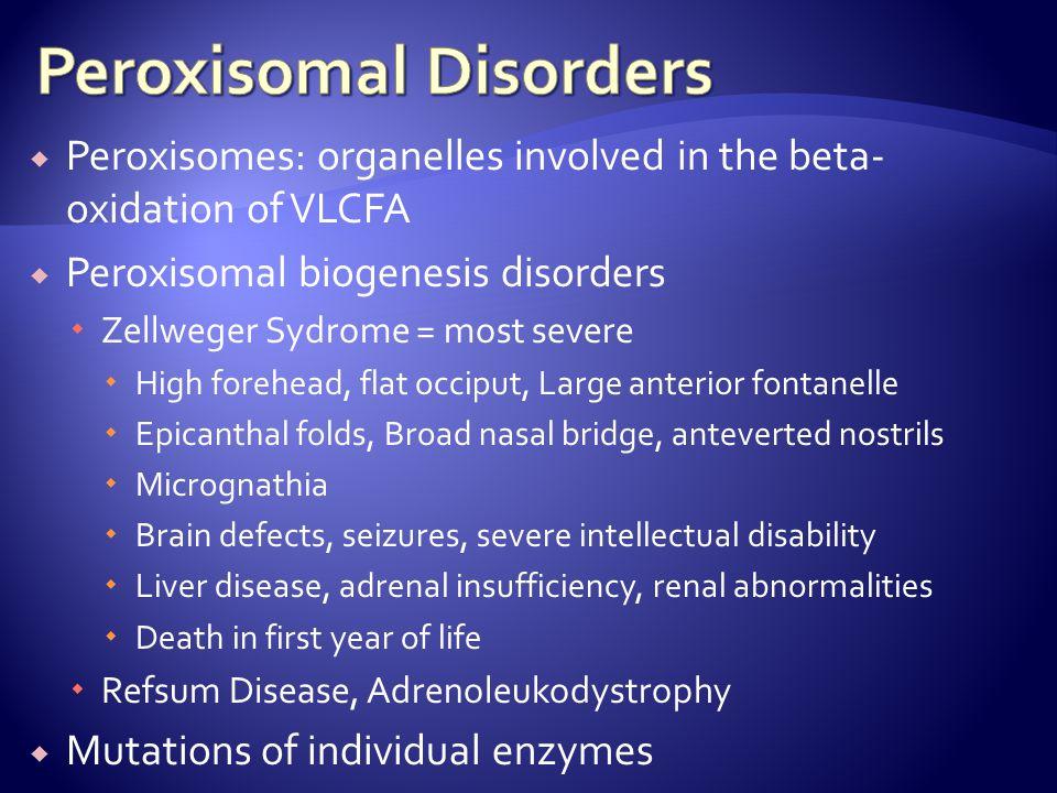 Peroxisomal Disorders