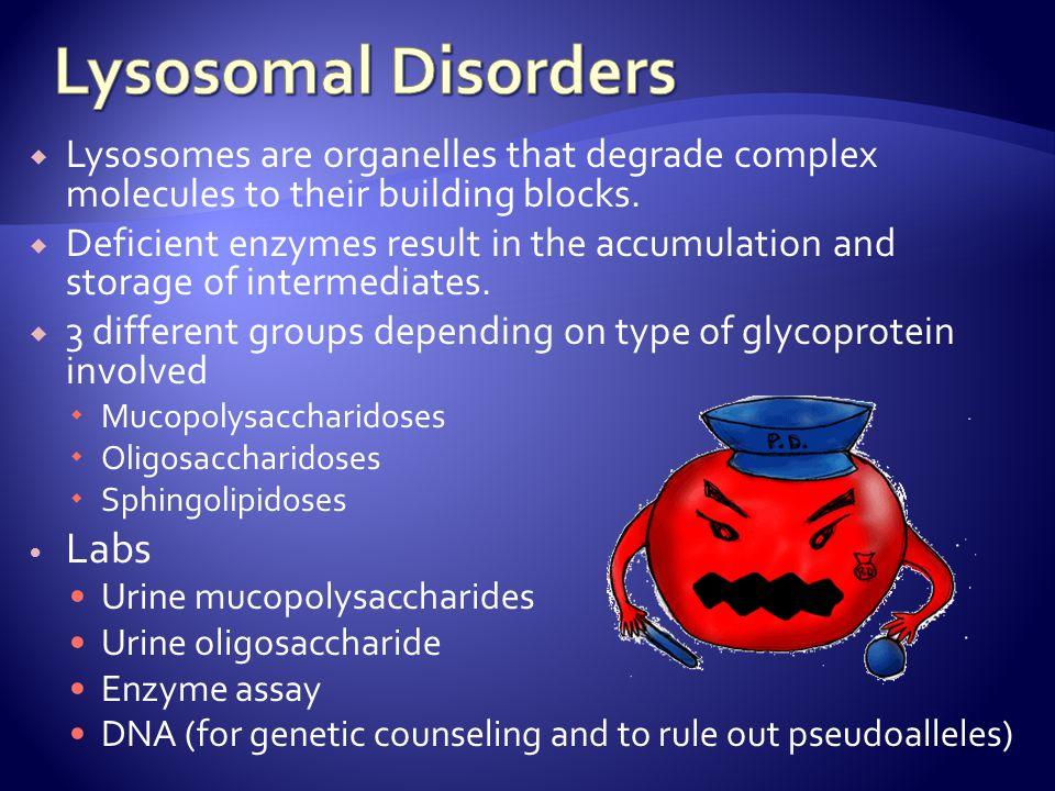 Lysosomal Disorders Labs