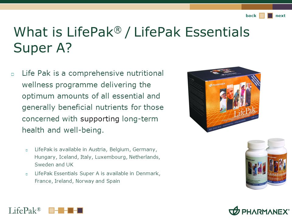 What is LifePak® / LifePak Essentials Super A