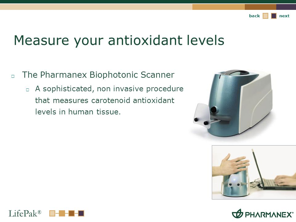 Measure your antioxidant levels