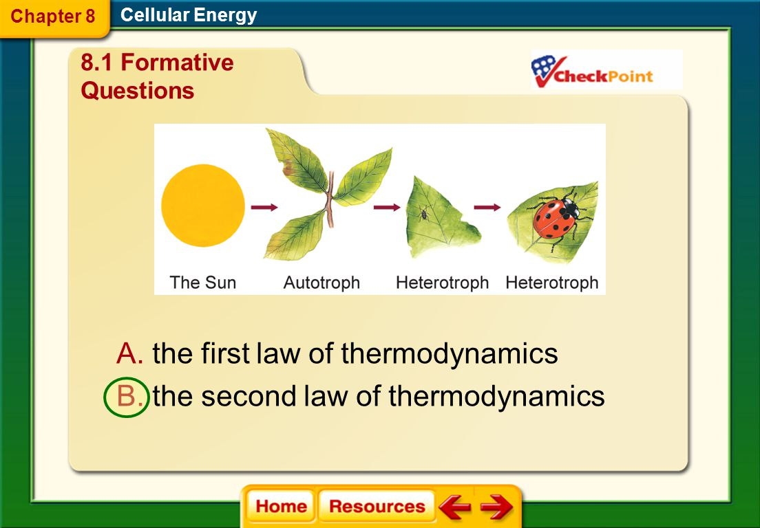 the first law of thermodynamics the second law of thermodynamics