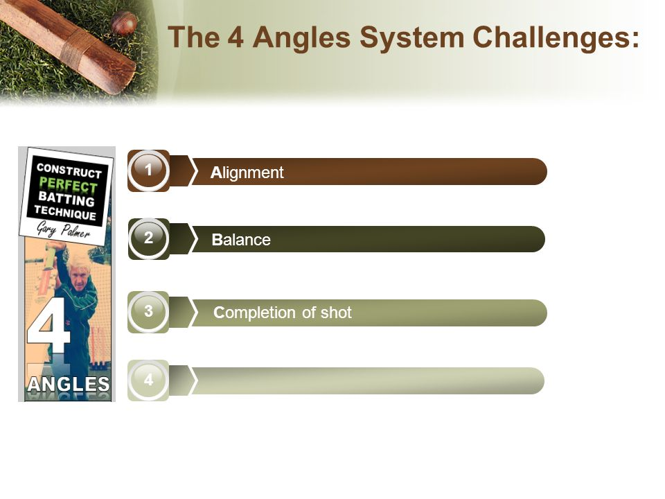 The 4 Angles System Challenges: