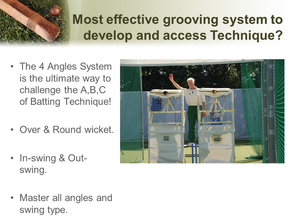 Most effective grooving system to develop and access Technique