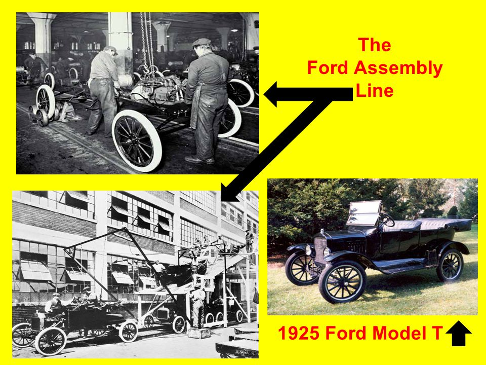 The Ford Assembly Line 1925 Ford Model T