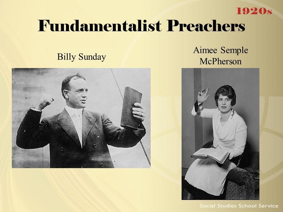 Fundamentalist Preachers