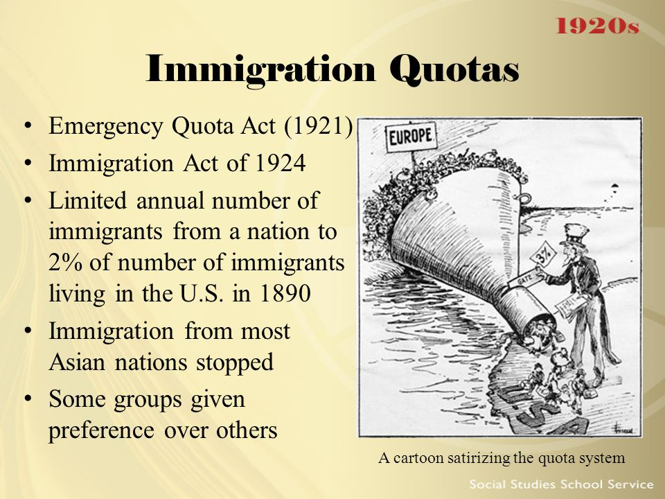 quota system immigration - photo #3