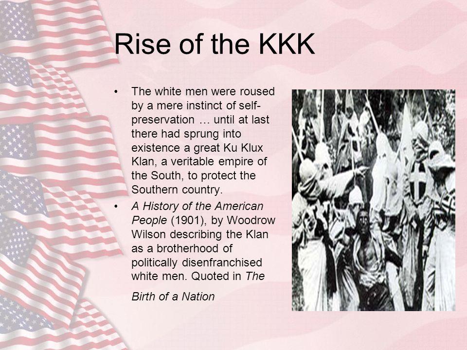 Rise of the KKK