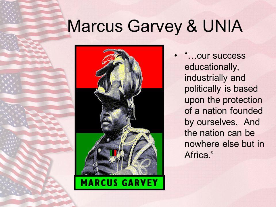 Marcus Garvey & UNIA