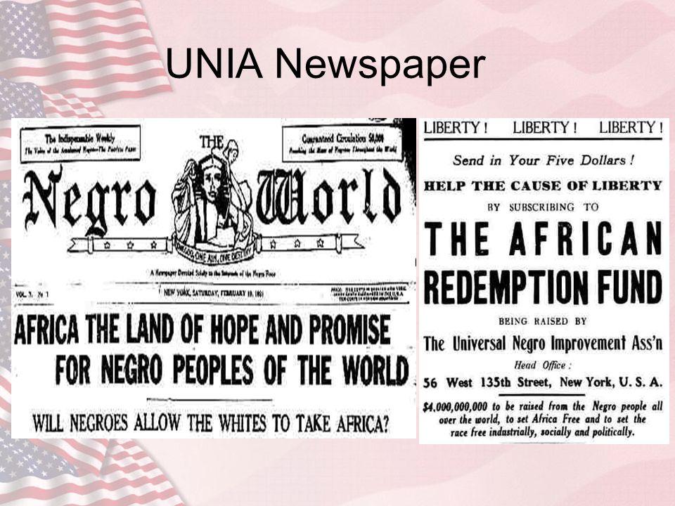UNIA Newspaper