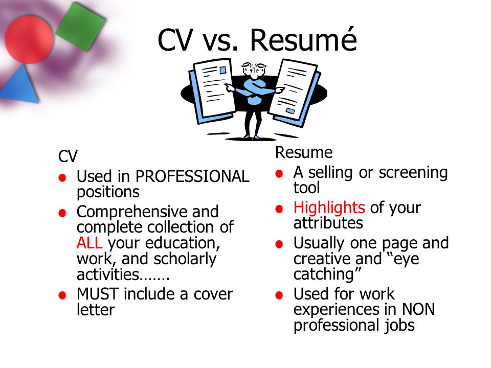 Definition Professional Resume