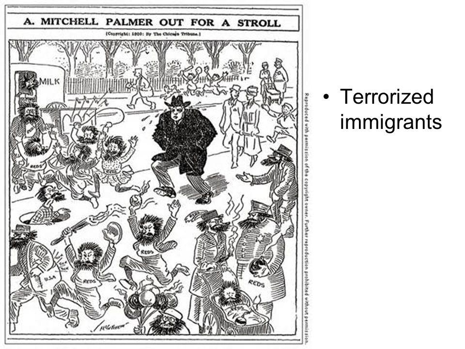 Terrorized immigrants