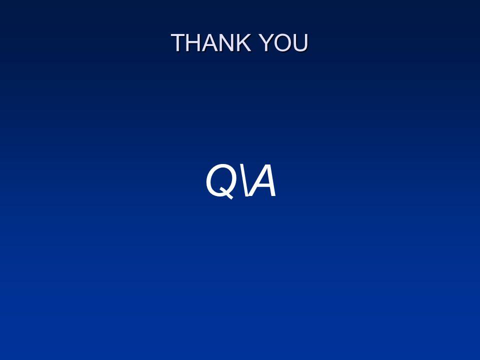 THANK YOU Q\A