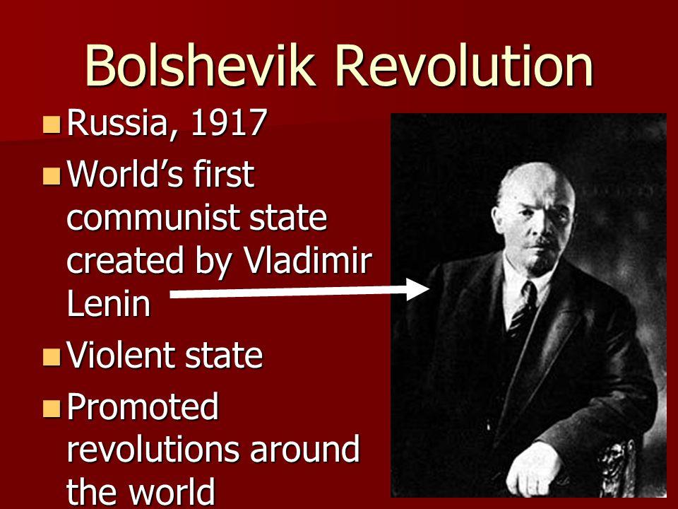 Bolshevik Revolution Russia, 1917