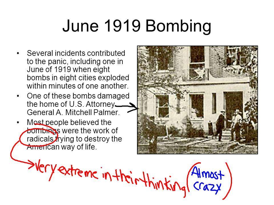 June 1919 Bombing