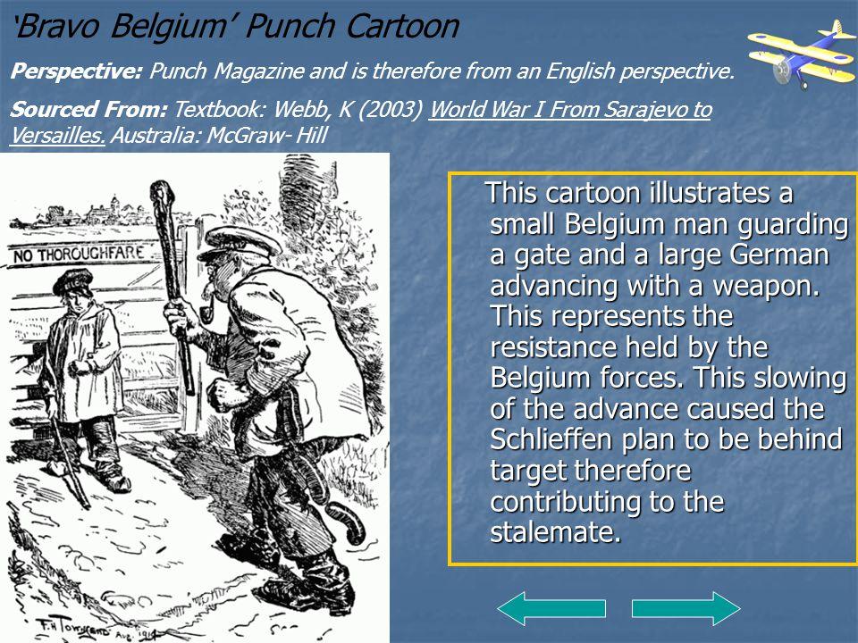 'Bravo Belgium' Punch Cartoon