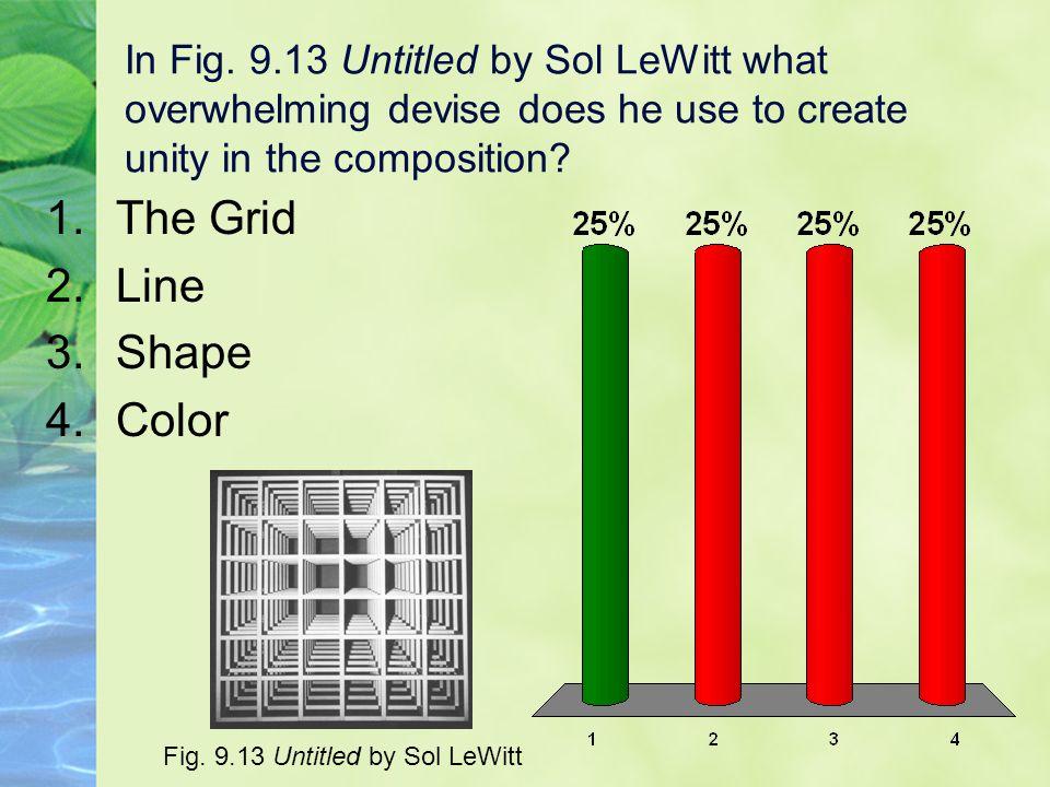 The Grid Line Shape Color