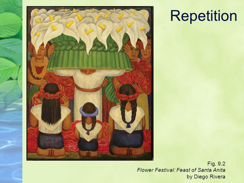 Repetition Fig. 9.2 Flower Festival: Feast of Santa Anita