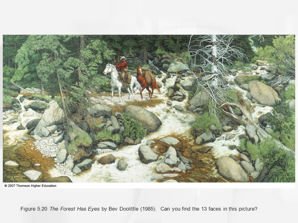 Figure 5. 20 The Forest Has Eyes by Bev Doolittle (1985)