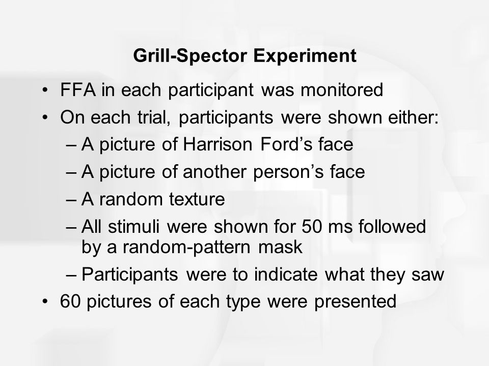 Grill-Spector Experiment
