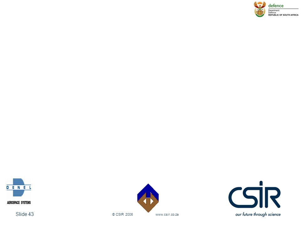 © CSIR 2006 www.csir.co.za