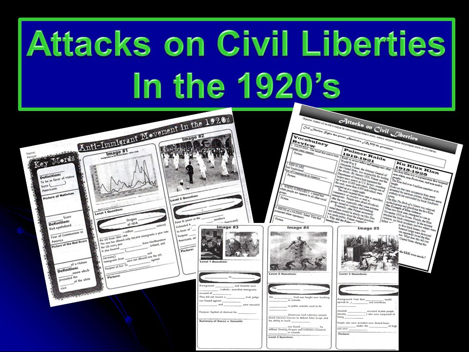 Attacks on Civil Liberties