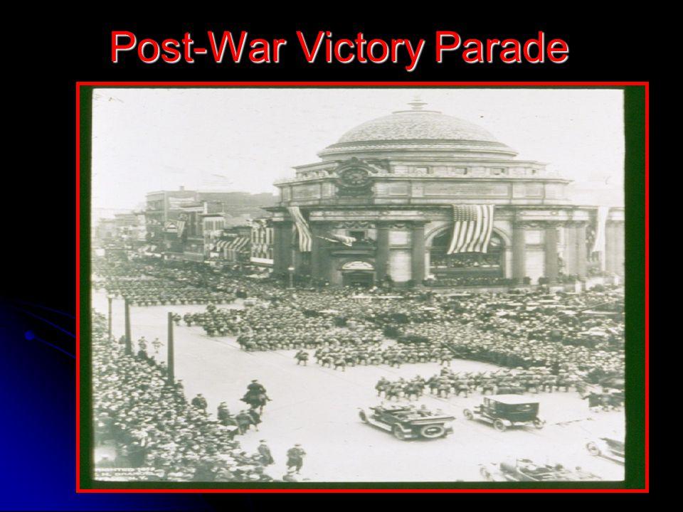 Post-War Victory Parade
