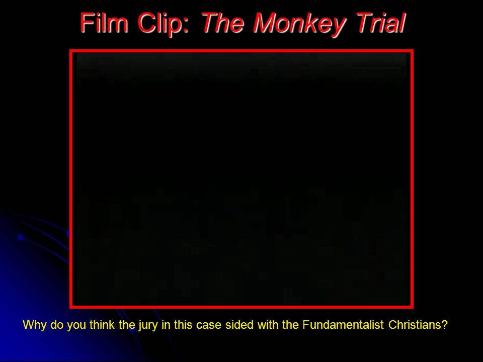 Film Clip: The Monkey Trial
