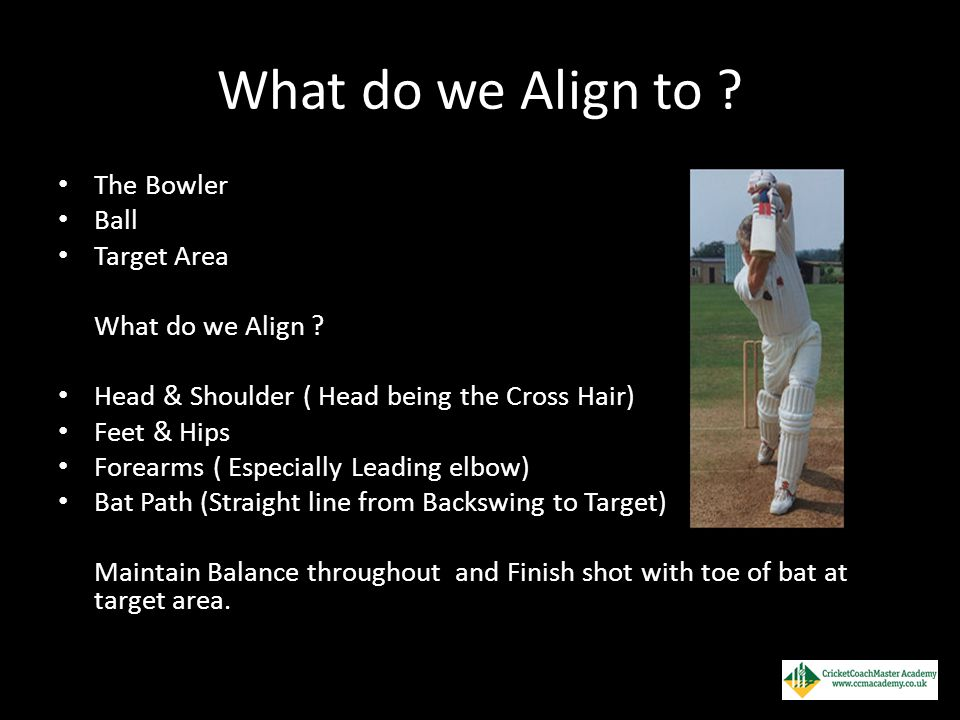 What do we Align to The Bowler Ball Target Area What do we Align