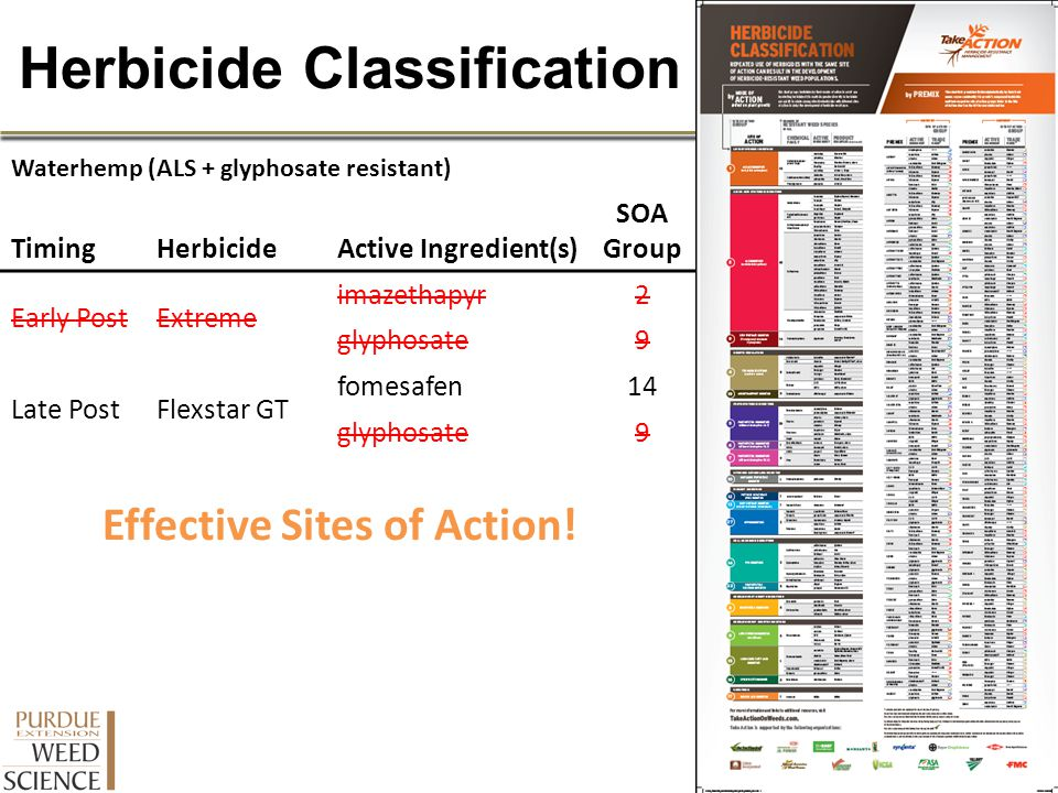 Herbicide Classification