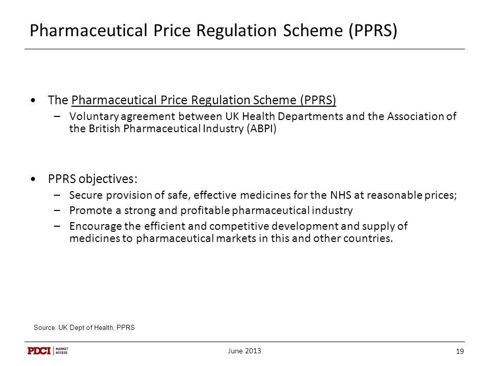 Pharmaceutical Price Regulation Scheme (PPRS)