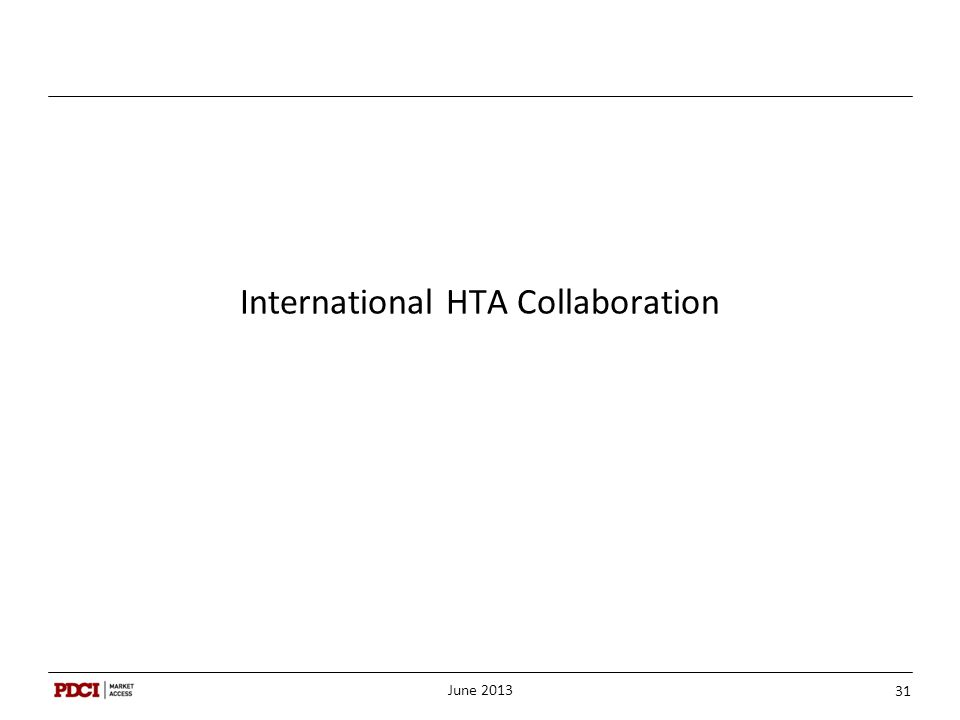 International HTA Collaboration