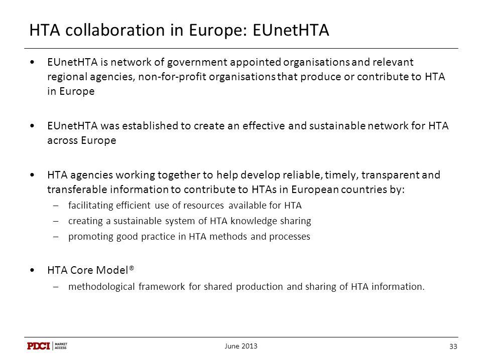 HTA collaboration in Europe: EUnetHTA