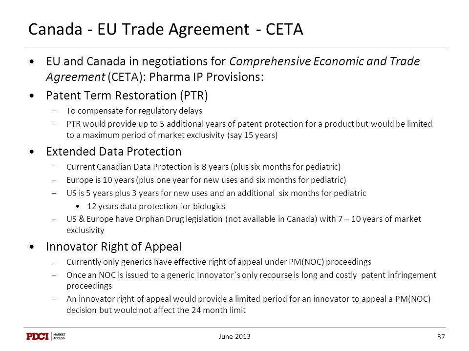 Canada - EU Trade Agreement - CETA