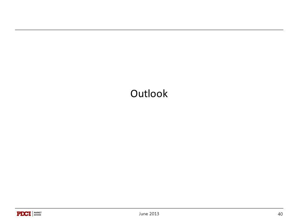 Outlook June 2013